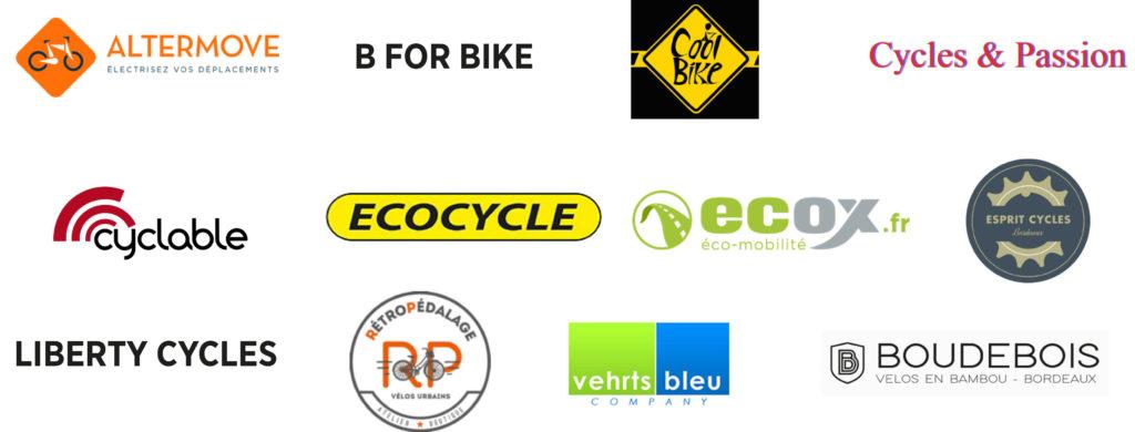 Partenaires vélocistes Vélo-Cité