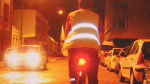 cycliste être vu