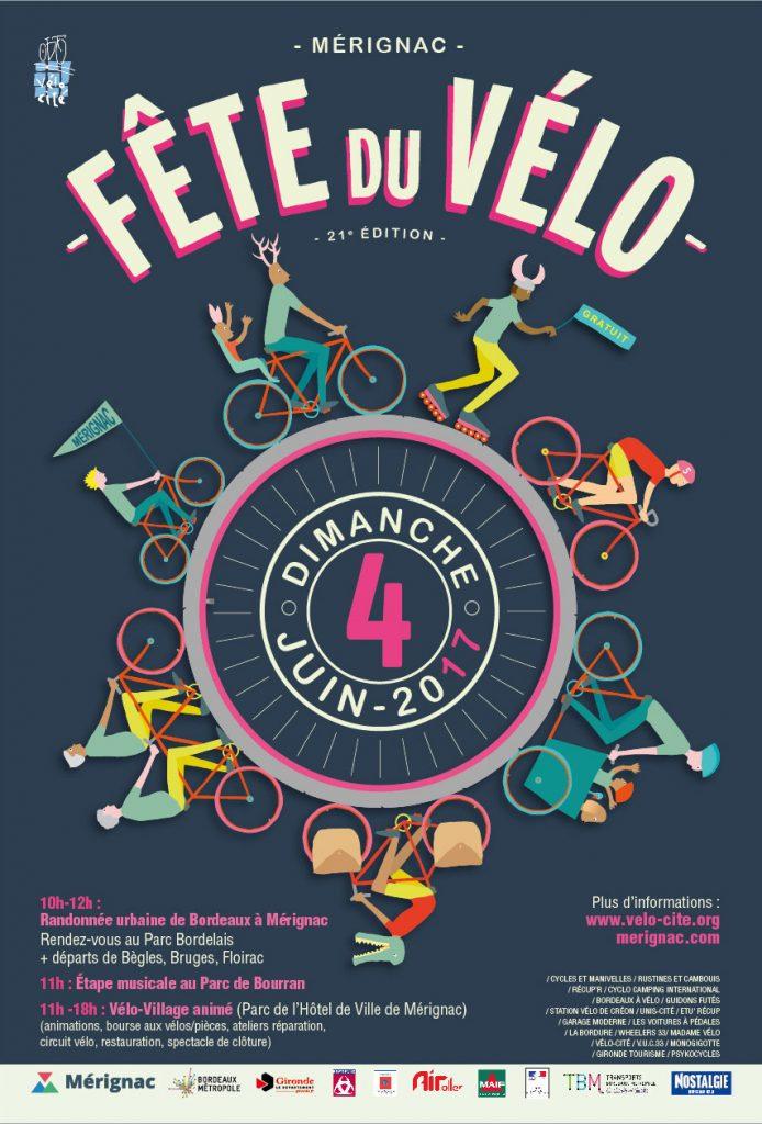 17-031-Affiche 2m2 Fête du vélo-4 juin 2017