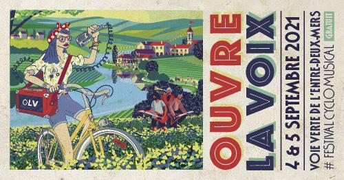Festival Ouvre la voix Bordeaux Vélo-Cité