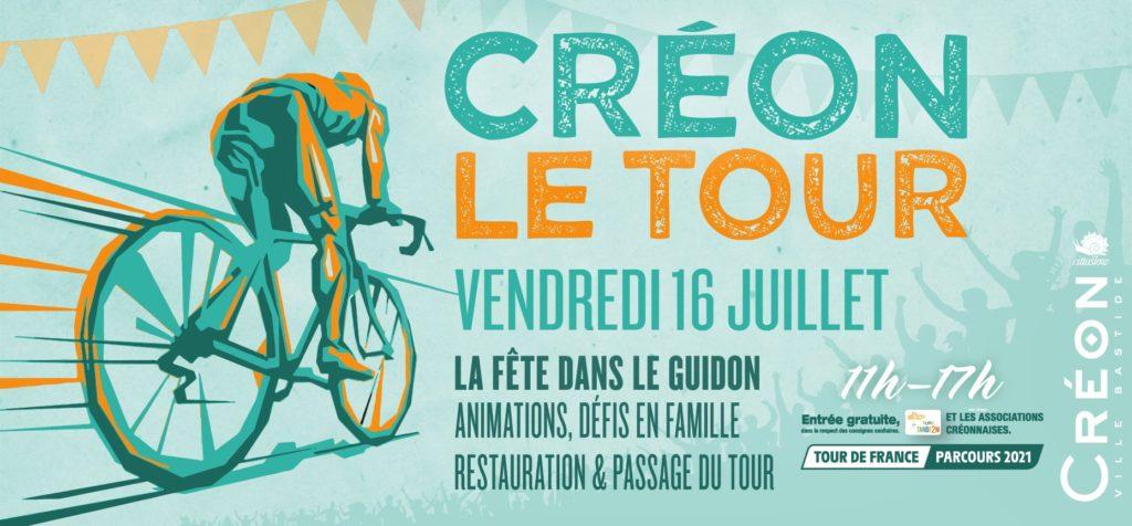 Créon - Le Tour de France 2021 Balade Vélo-Cité
