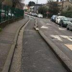 Rue de Mégret à Talence