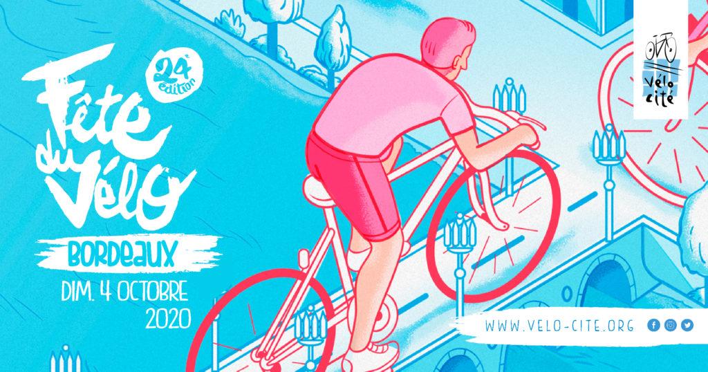 Bandeau Fête du vélo Bordeaux
