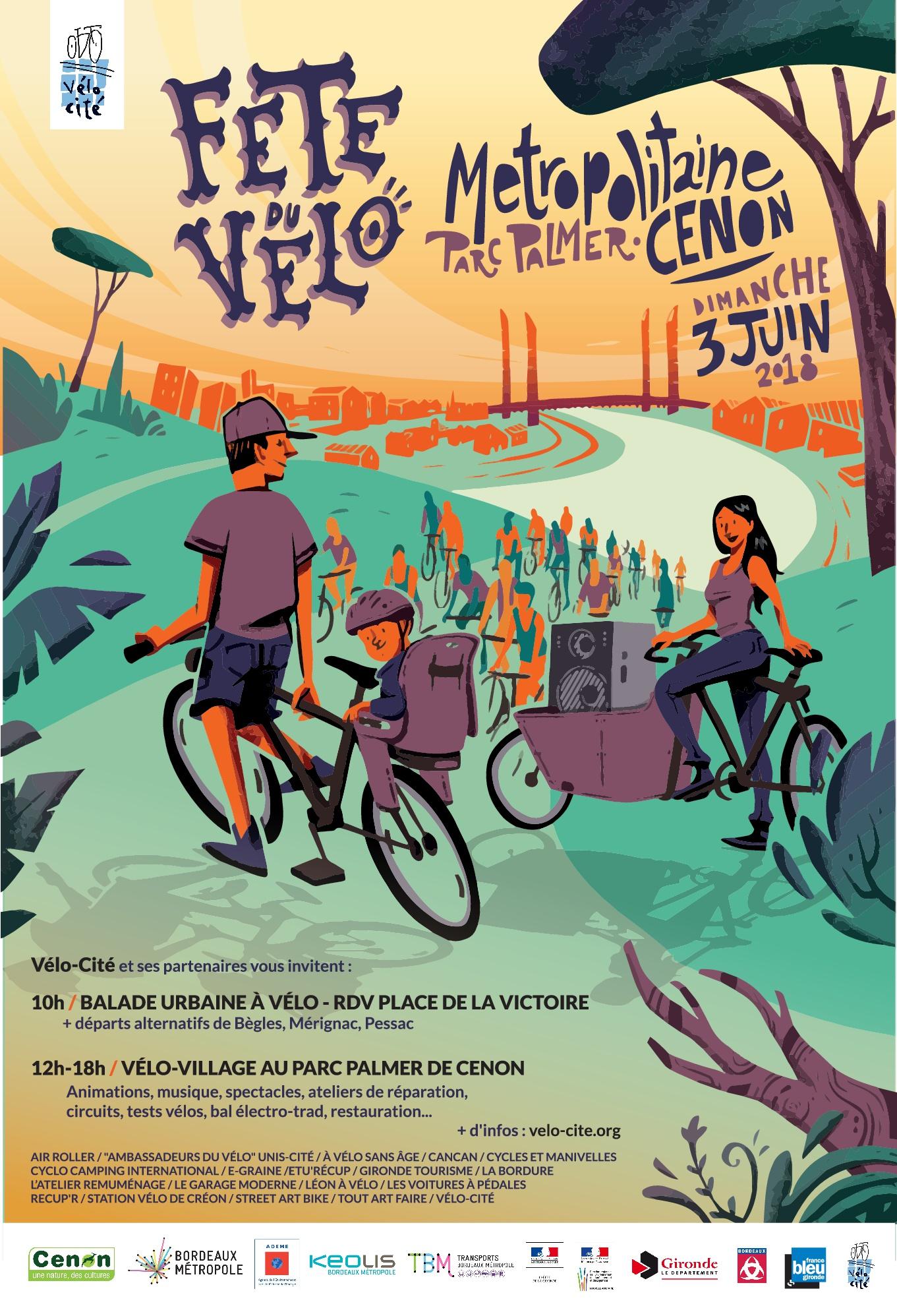 Fête du Vélo à Bordeaux - Edition 2018