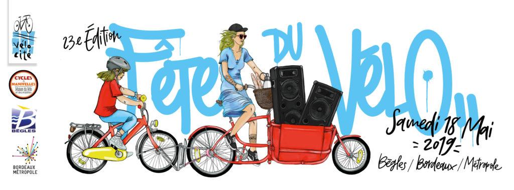 Bannière Fête du vélo 2019