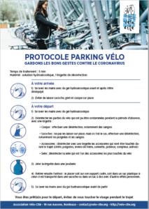 Protocole P vélo