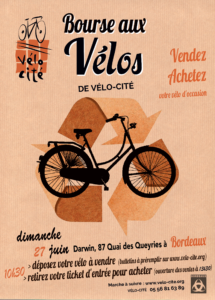 Bourse aux vélos Vélo-Cité