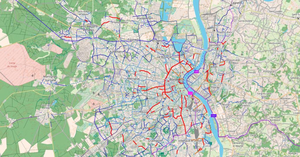 Plan d'urgence vélo Bordeaux