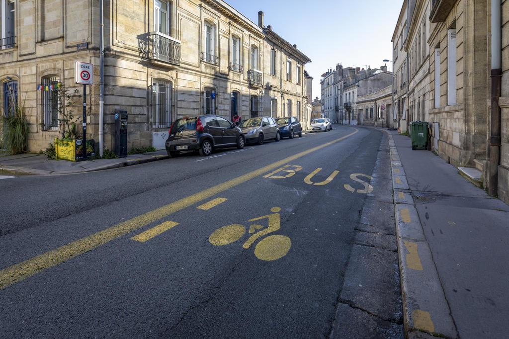 Couloirs bus-vélos pérennisés Bordeaux