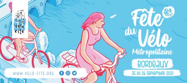 Fête du vélo 2021 Bordeaux Vélo-Cité