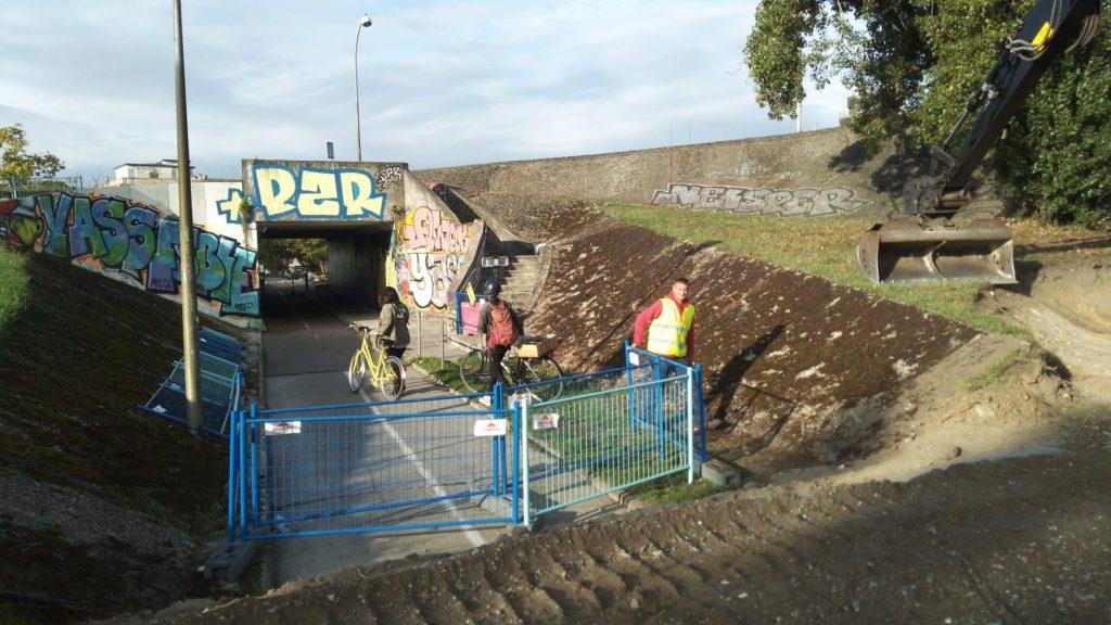 Pont Saint Jean fermé aux cyclistes mardi 28 septembre