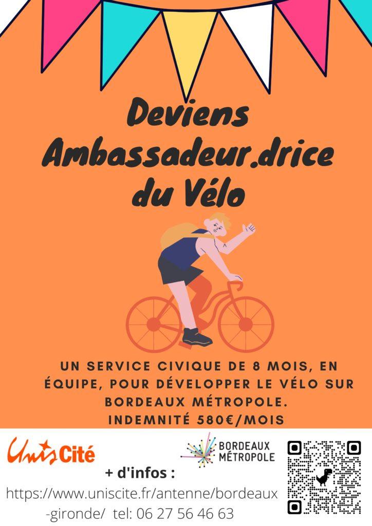 Ambassadeurs/drices du vélo Unis Cité