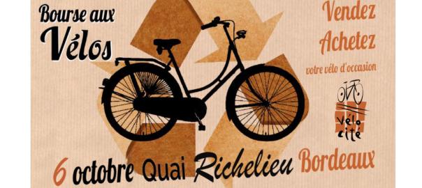 Visuel Bourse aux vélos - crédit Vélo-Cité ptt
