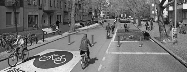Grande vélorue bordelaise Campagne Vélo-Cité