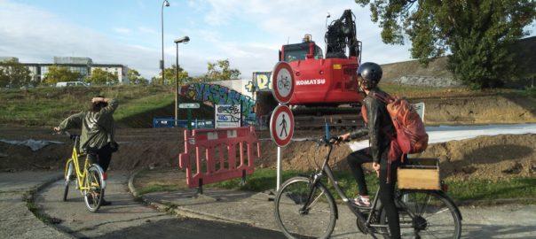 Bordeaux Fermeture du pont Saint Jean aux cyclistes, appel à manifester