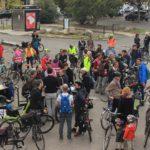 Manifestation Fermeture du Pont Saint Jean Bordeaux - 1er Octobre 2021